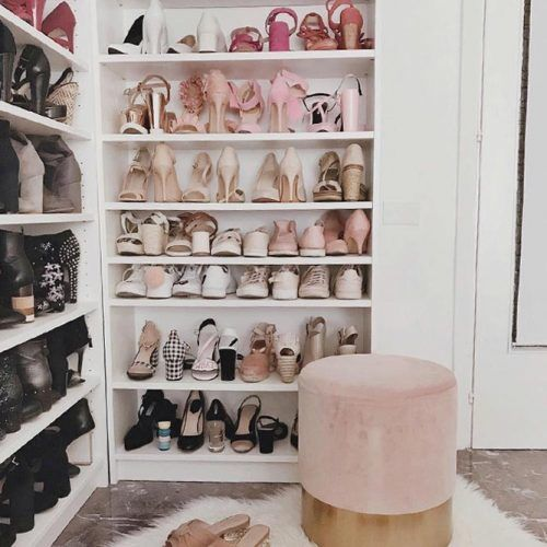 Shoes Shelves Storage Space #shoeshelves