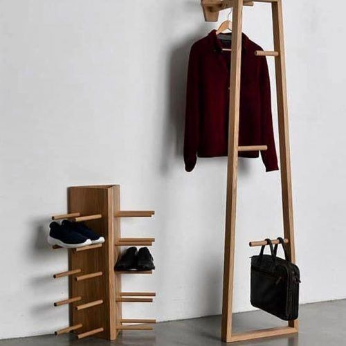 Wood Shoes Organizer #woodorganizer