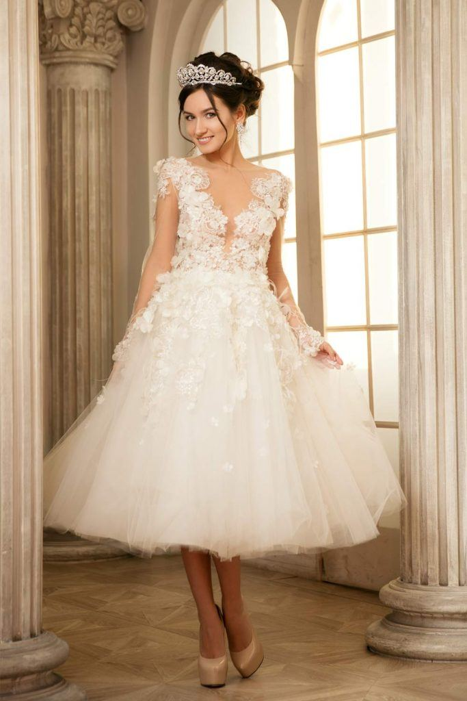 Beautiful Short Wedding Dress