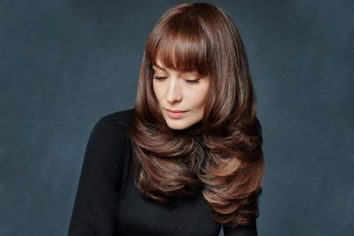 Long Hair with Bangs: How To Choose Perfect Bangs For Your Face