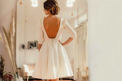 Exquisite Short Wedding Dresses For The Big Day