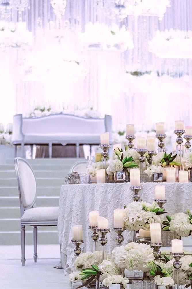 Fairy Wedding Candles #candles #weddingdecor