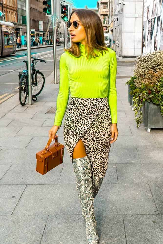 Neon Colors Are Not Retro Anymore #neonaccent