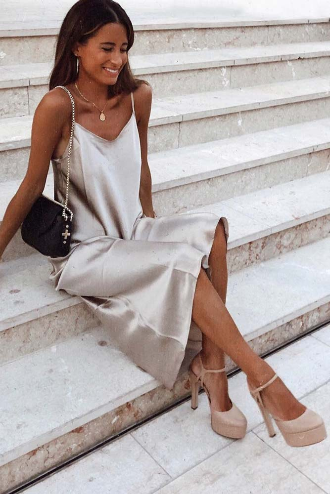 Slip Dress Fashion Trend #slipdress
