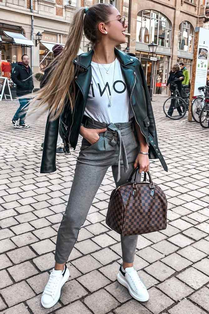 Leather Jacket Fashion Trend #leatherjacket