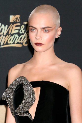 Blended Buzz Cut #shorthair #caradelevingne