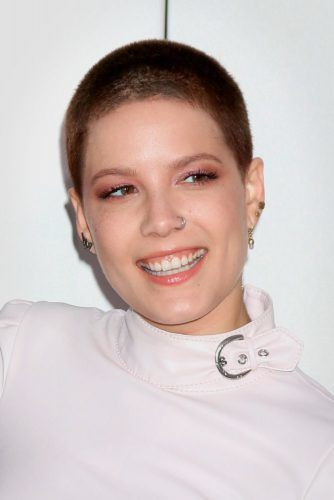 Buzz Cut - The New Celeb-Reality #shorthair #halsey