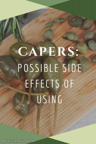 Side Effects Of Capers #sideeffects #capersrisks