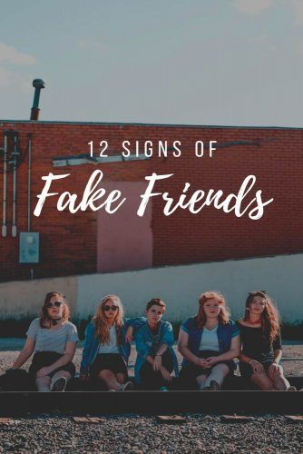 Signs Of Fake Friends #relationship #friends