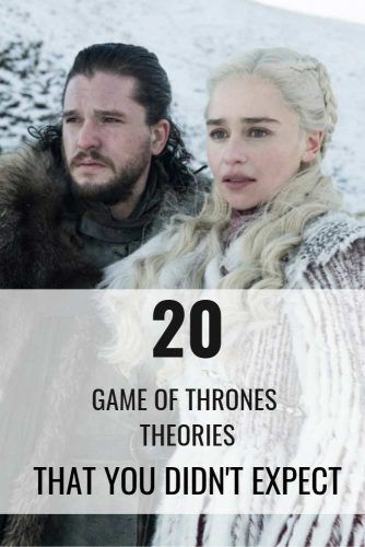 20 Main 'Game of Thrones' Theories
