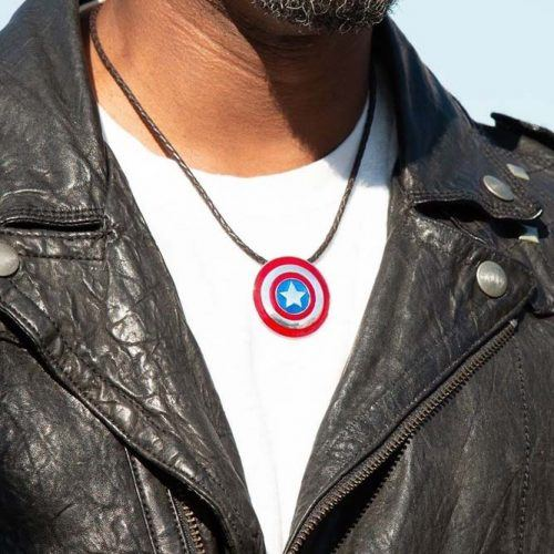 Captain America Necklace Gift Idea #necklace