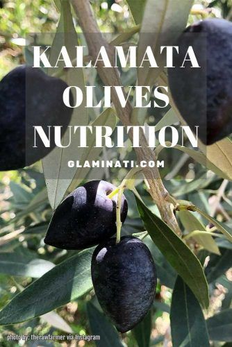 Kalamata Olives Nutrition #olivesnutrition