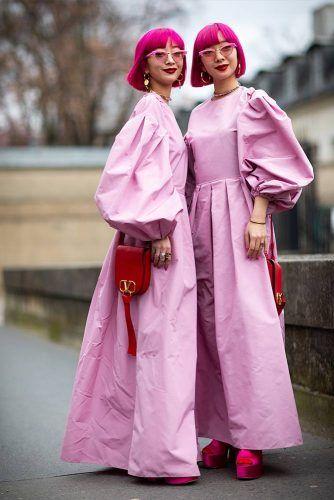 Aya And Ami Suzuki At Paris Fashion Week #sisterssuzuki #ayaamisuzuki