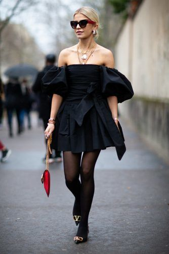 Caroline Daur At Paris Fashion Week #carolinedaur