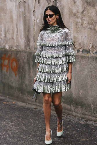 Gilda Ambrosio At Paris Fashion Week #gildaambrosio