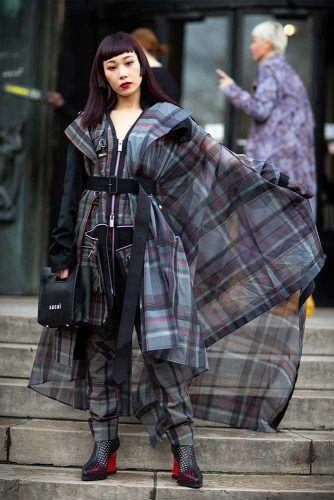 Mademoiselle Yulia At Paris Fashion Week #mademoiselleyulia