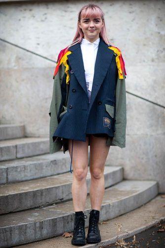 Maisie Williams At Paris Fashion Week #maisiewilliams