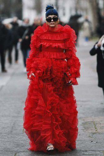 Sita Abellan At Paris Fashion Week #sitaabellan