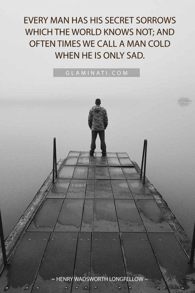 Quote By Henry Wadsworth Longfellow #henrywadsworthlongfellow #man