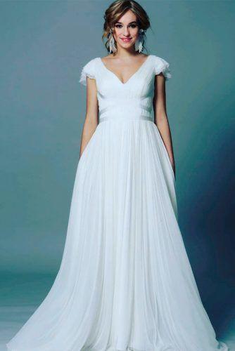 Layered Greek Wedding Dress  #layeredweddingdress #greekweddingdress