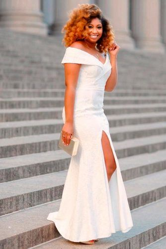 High Wrap Wedding Dress #longweddingdress #elegantweddingdress