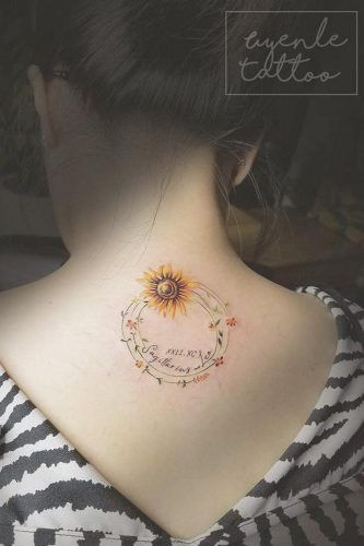 Significance of a Sunflower Tattoo