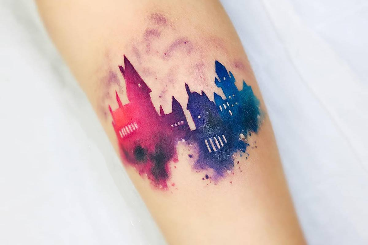 17 Harry Potter Tattoos For True Fans Of The Magical Story There was a serious boom in harry potter tattoos while there were still films being released, but that there are still millions of harry potter fans who would still like to have a tattoo of their adored. 17 harry potter tattoos for true fans
