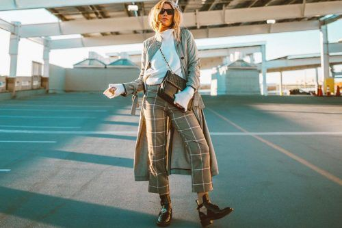 Versatile Plaid Pants And Ways Of Pulling Them Off