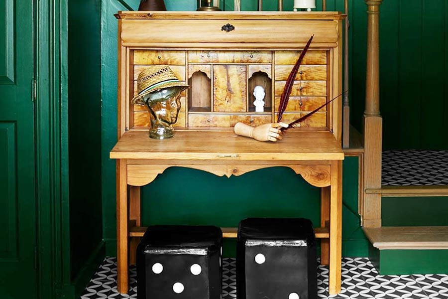 Secretary Desk Is A Beautiful And Practical Addition To Every House