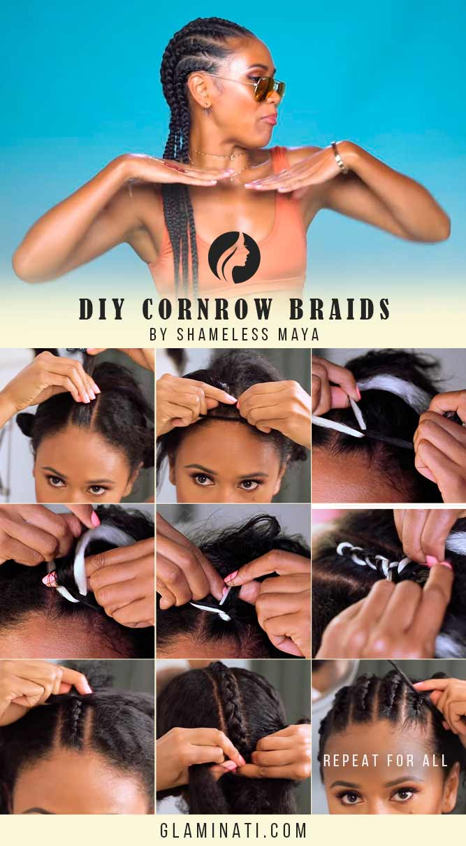 How Do You Do Cornrows? #tutorial #hairtutorial