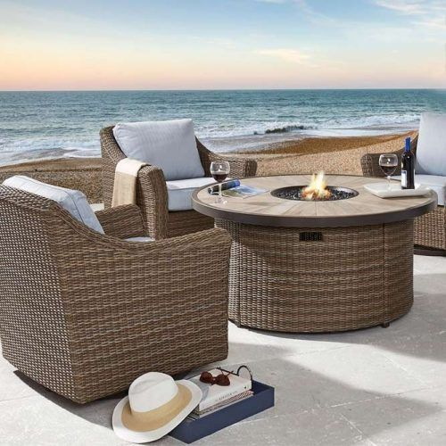 Beach Rest Space With Fire Pit #beachrest