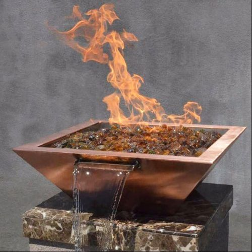 Maya Square Fire & Water Pot Design #waterpot