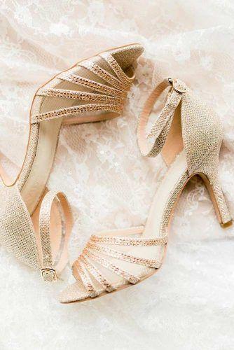 D'orsay Sparkly Gold Heels #opentoeheels
