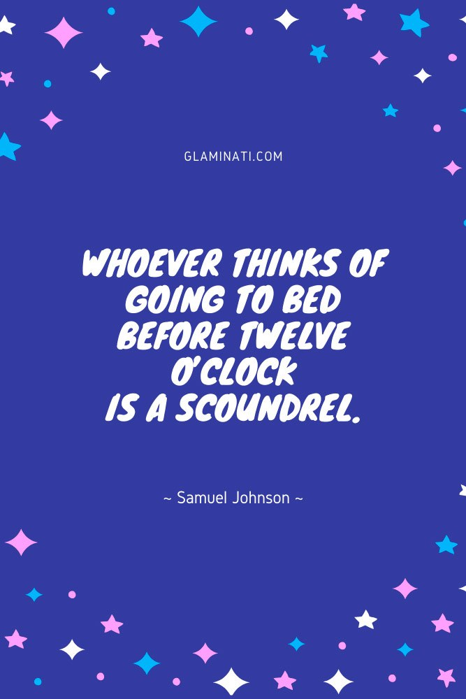 Good Night Quote By Samuel Johnson