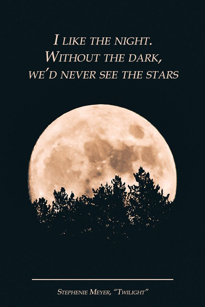 Without the dark, we'd never see the stars. #quotes #inspirationalquotes