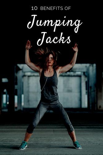10 Benefits Of Jumping Jacks #fitness #health