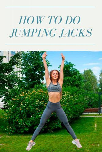 How To Do Jumping Jacks #fitness #health
