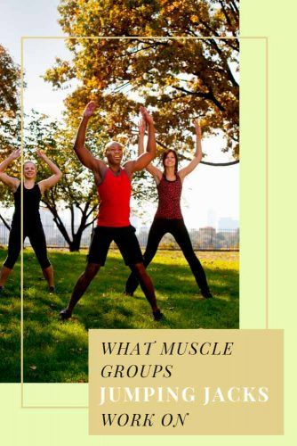 What Muscle Groups Jumping Jacks Work On #fitness #health
