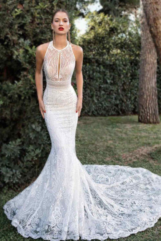 What Era Are Fishtail Dresses From? Are Mermaid Dresses Out Of Style? #bohemiandress #bohowedding