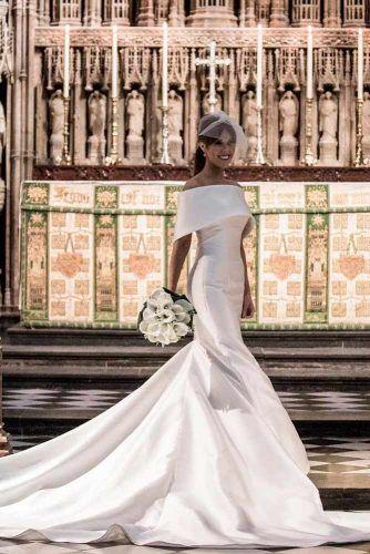 Vintage Mermaid Wedding Dress Like A Queen #vintageweddingdress #simpleweddingdress