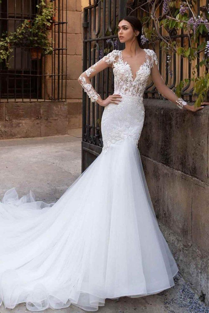 What Is A Mermaid wedding Dress? #wedding #weddingdress