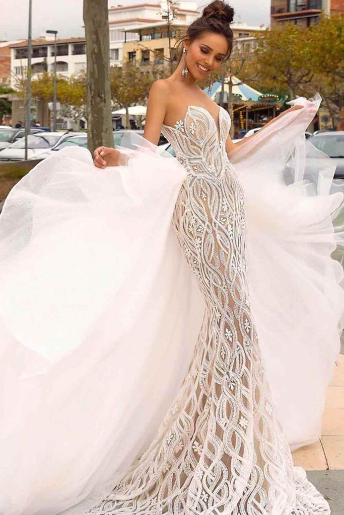 Can I Wear A Mermaid Wedding Dress? #prettyweddingdress #sexybride