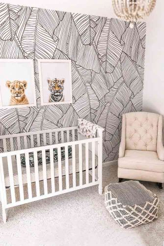 Nursery Idea For Boys With Painted Wall #pictures #walldecor