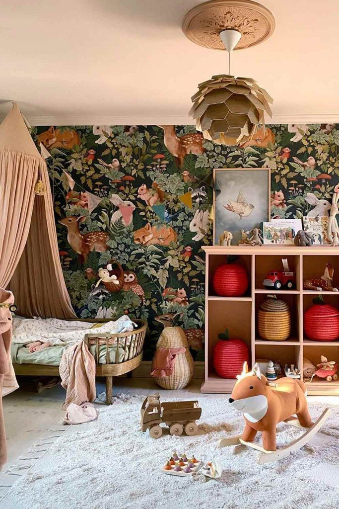 Boho Style Nursery