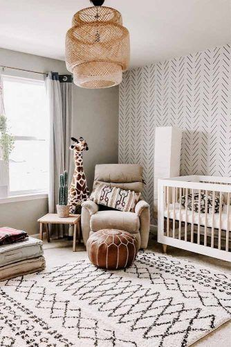 Boho Nursery Design For Boy In Neutral Colors #bohonursery