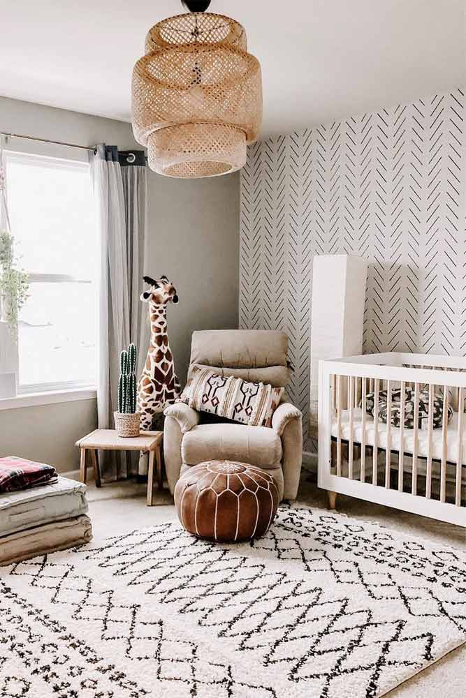 Boho Nursery Design For Boy In Neutral Colors #bohonursery