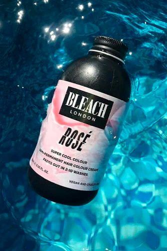 BLEACH London Rose Shampoo And Conditioner #haircolor #bleachlondon
