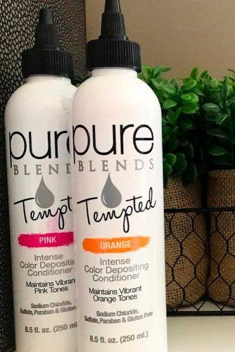 Pure Blends Tempted Intense Color Depositing Conditioner #haircolor #pureblends