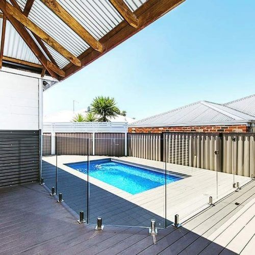 Composite Pool Decking And Timber Screening #timberscreening