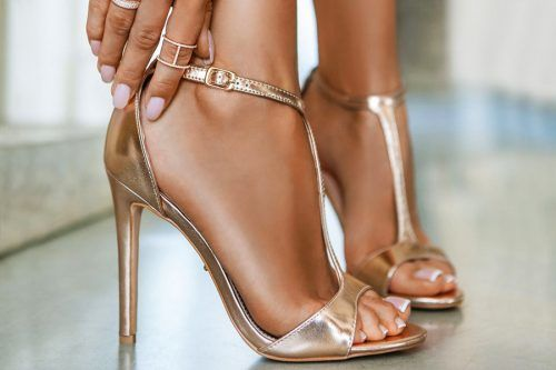 Exquisite And Luxurious Gold Heels For Your Flawless Look